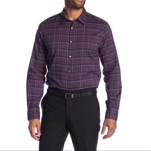 John Varvatos Mayfield Long Sleeve Slim Fit Shirt
